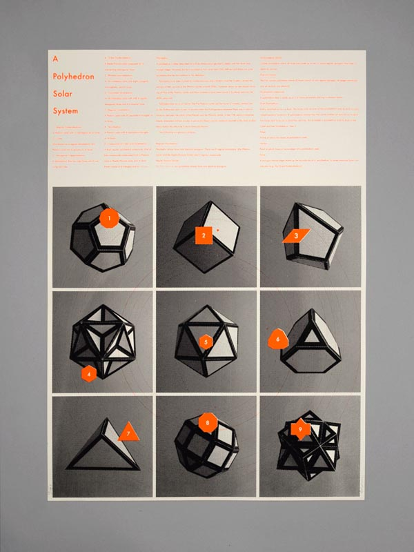 Polyhedron Solar System - Poster Design by Maddison Graphic