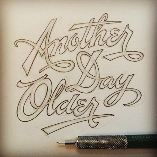 Scribbles and Handwritten Letterings by Matthew Tapia