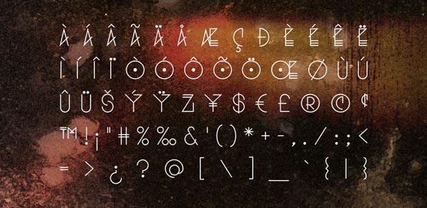 Sobek - Experimental and Futuristic Font