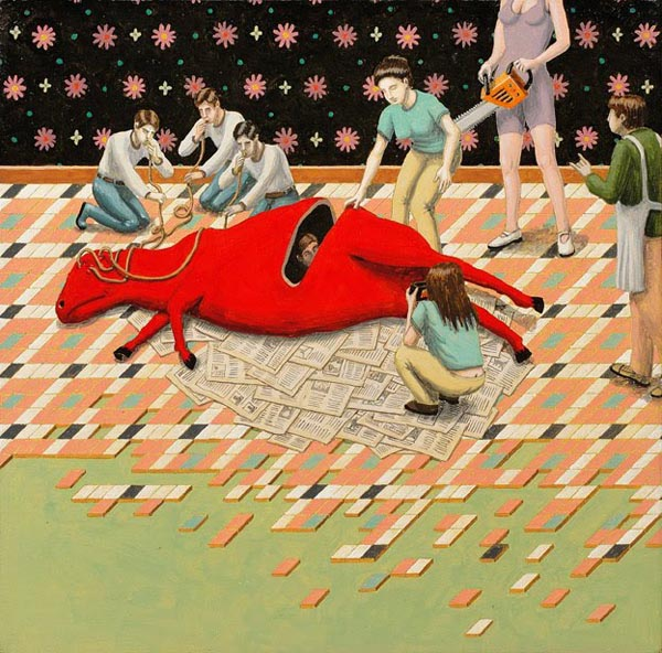 Surreal and Bizarre Painting by Artist San Poggio