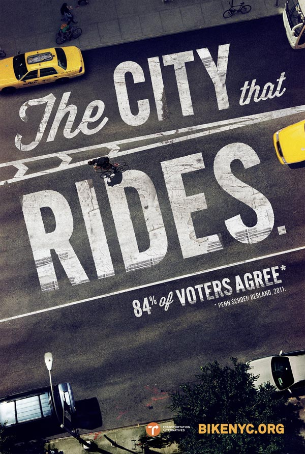 The City that Rides - BikeNYC Camaign