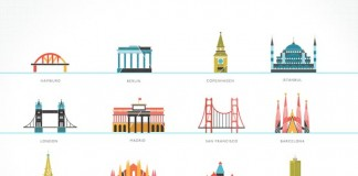Tiny Buildings - Illustrated by Kelli Anderson