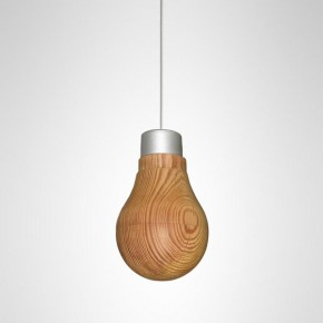 Wooden Light Bulb - Product Design by Ryosuke Fukusada