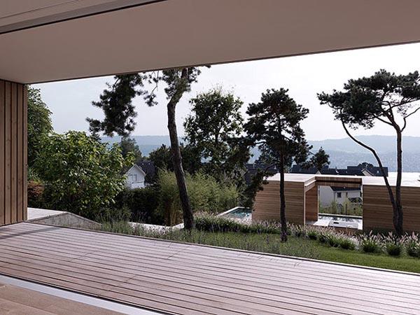 2Verandas House in Erlenbach, Zürich (Switzerland) - Modern Home Design by Gus Wüstemann Architects