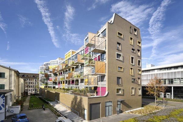 K i s s apartment building in zurich switzerland for K architecture geneve