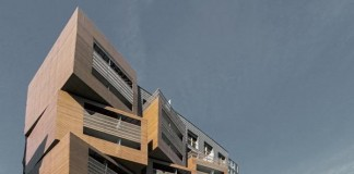 Basket Apartment Building for Student Housing in Paris, France by OFIS Architects