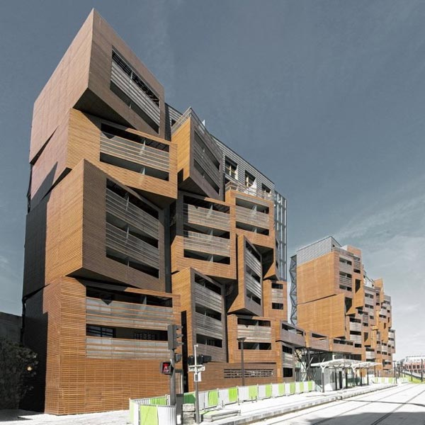 Utah Home Design Architects: Basket Apartment Building For Students In Paris By OFIS