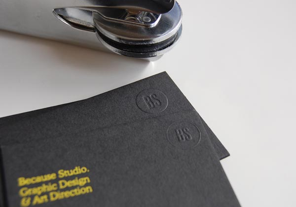 Because Studio Business Card