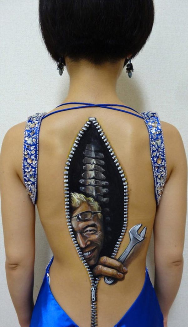 Body Art Illusions by Chooo-San