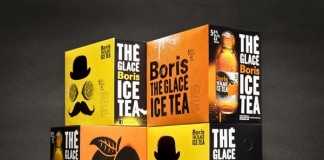Boris Ice Tea Package Design by lg2 boutique
