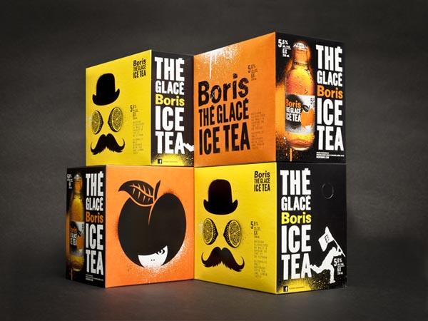 Boris Ice Tea Package Design by lg2 boutique