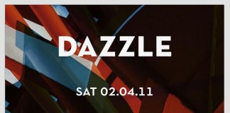 DAZZLE Party Poster Design by Hellopanos