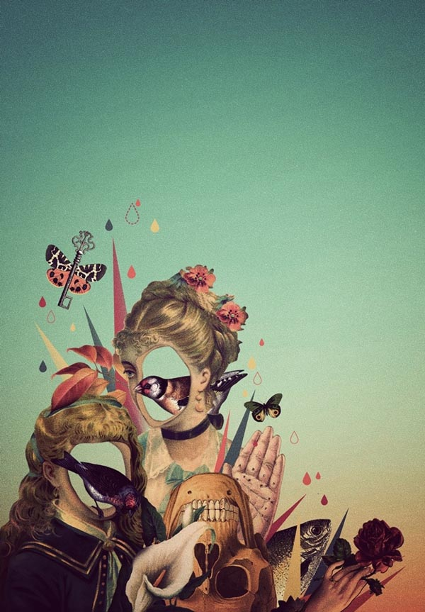 Digital Illustrations And Collages By Willian Santiago