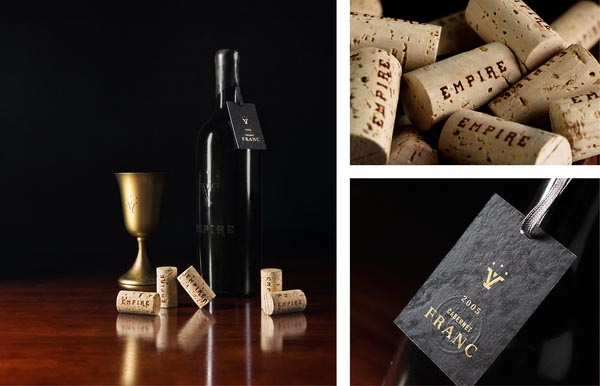 Empire Vineyards Branding and Packaging by Fred Carriedo