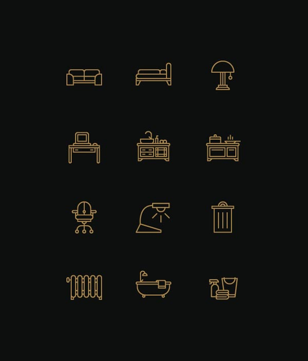 Devices Icons By Designer Tim Boelaars Furniture And Interior