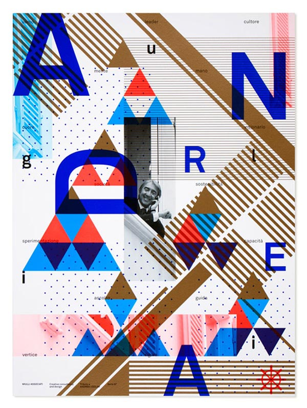 Graphic Design Poster by Miulli Associati