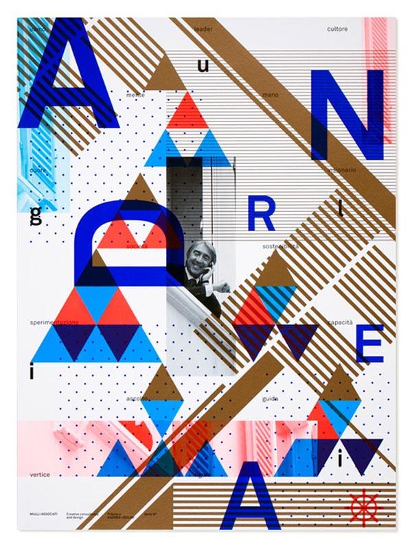 graphic design poster: