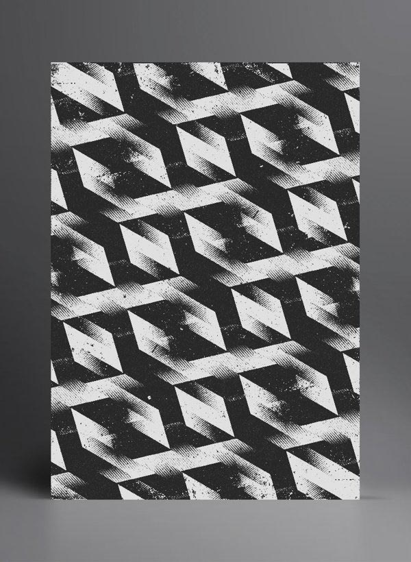 Graphic Pattern Art by Marius Roosendaal