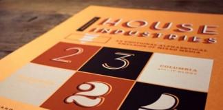 House Industries Poster by J Fletcher Design