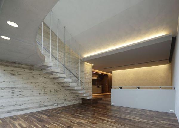 Inside the modern Breeze House by Artechnic