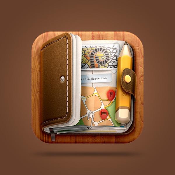 Journal iOS Icon Design