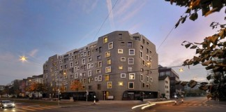 K.I.S.S. Apartment Building in Zurich, Switzerland - designed by Camenzind Evolution