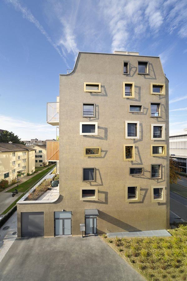 K.I.S.S. Apartment Building in Zurich, Switzerland