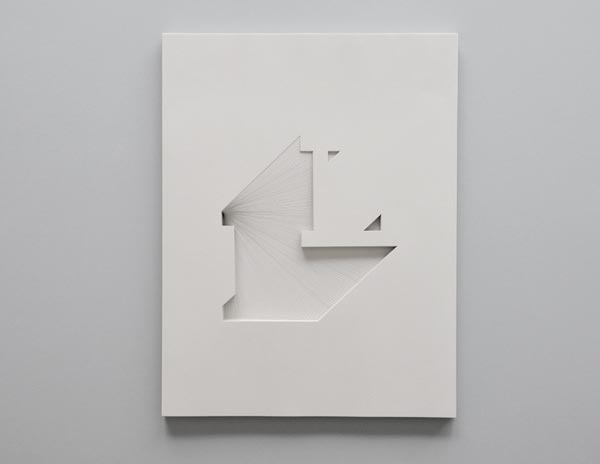 Letter L for Lisa - Papercraft by Bianca Chang
