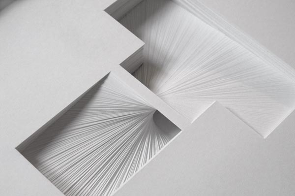 Letter T - 180 sheets of 80gsm paper by Bianca Chang