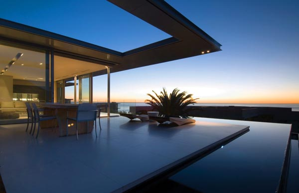 Luxury Villa with Pool at Lions Head, Camps Bay, South Africa by SAOTA