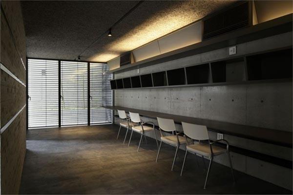 Modern Interior inside Breeze House by Artechnic