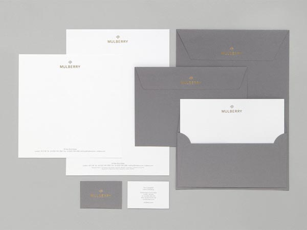 Mulberry Identity - Stationary Design by Construct