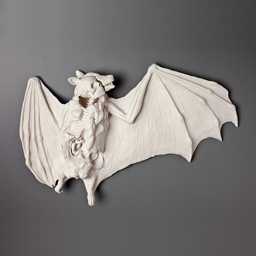Outfoxed - hand built porcelain sculpture by Kate MacDowell