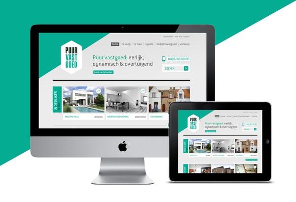 Puur Vastgoed Website - Web Design by Tim Bisschop