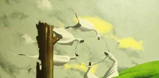 Rain Dance - Acrylic Painting on Canvas by Rom Villaseran