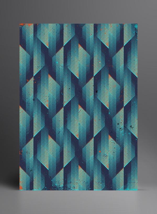 Retro Pattern Design by Marius Roosendaal