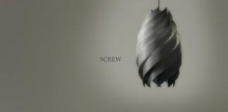 Screw Lamp Design Concept by Enrico Zanolla