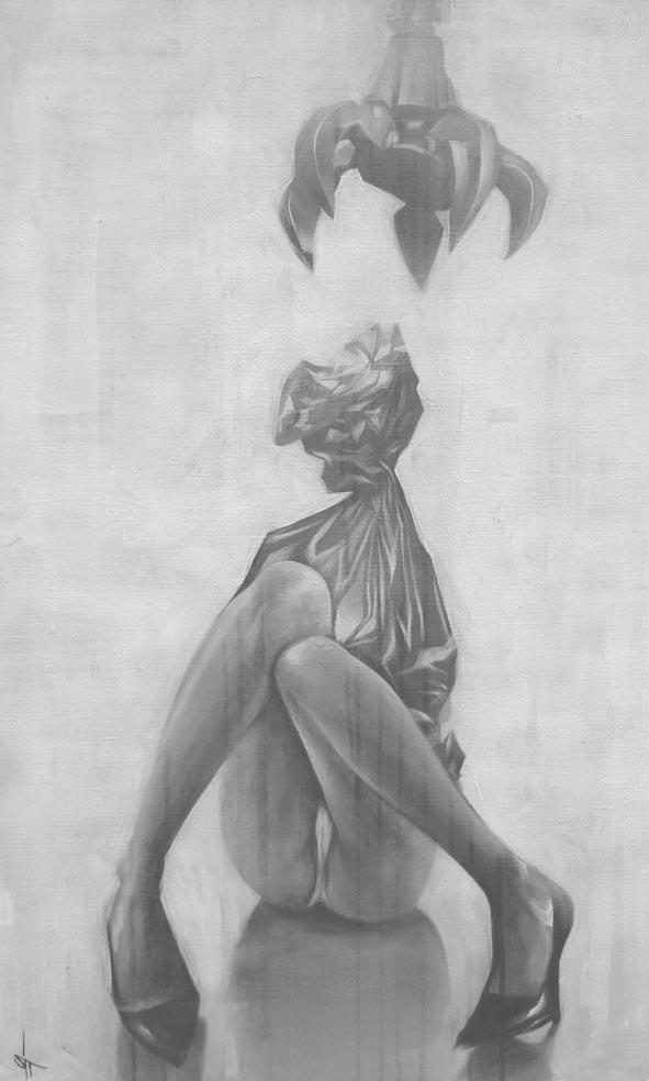 Sit – Haiiro Illustration Art