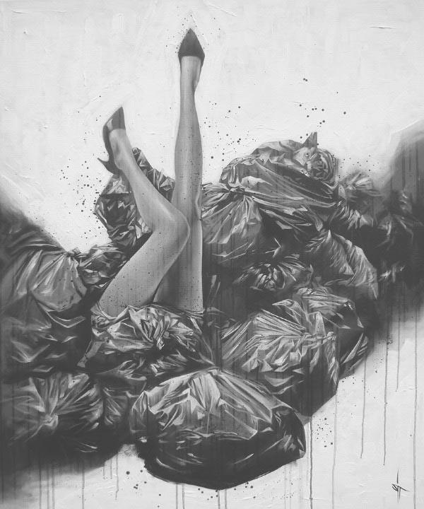 Sit – Haiiro Illustration Artwork