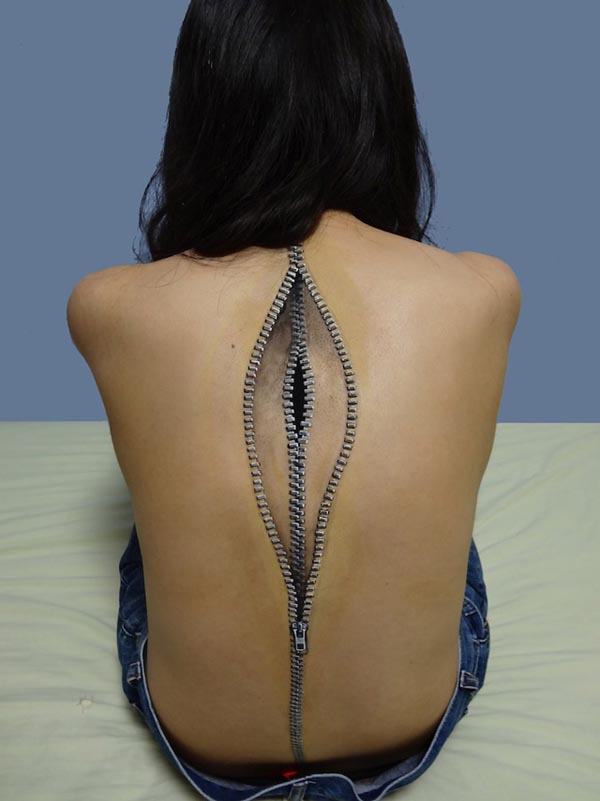 Super Realistic Body Art by Chooo-San
