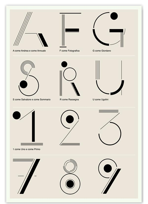 Typographic Poster Design by Miulli Associati