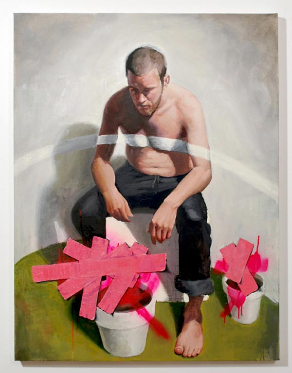 Violence - Artwork by Russ Noto