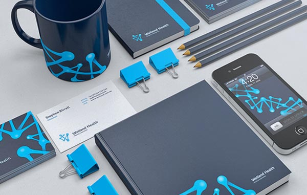 Wellend Health Brand Identity by Vision Trust