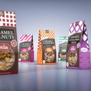 Sugar Nuts Package Design by Studio43
