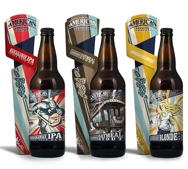 American Brewing Company - Brand Design and Packaging by Taphandles