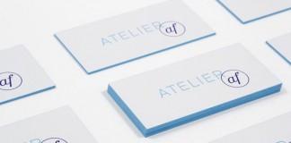 Atelier AF Business Cards by Blok Design
