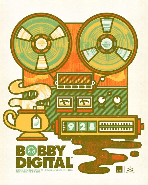 Bobby Digital Poster Design for Robert Walker