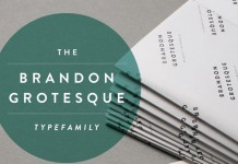 Brandon Grotesque Font by HVD Fonts
