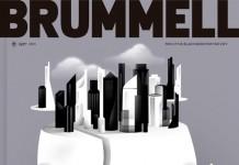 Brummell Magazine Cover Illustration by Borja Bonaque