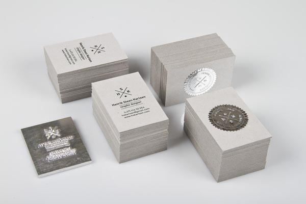 Business Cards by Henrik Steen Karlsen